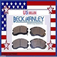 Disc Brake Pad Rear Beck//Arnley 082-1473