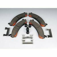 Disc Brake Pad Set-Ceramic Front ACDelco Pro Brakes 17D1075CH